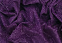 Cabaret Sparkle Velvet Velour Purple