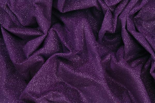 Cabaret Sparkle Velvet Velour Purple