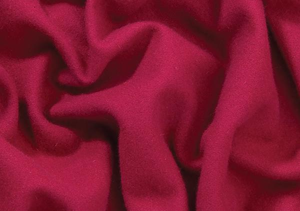 Coloured Wool Serge Plum