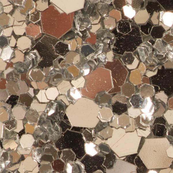 Glitter Cloth Silver