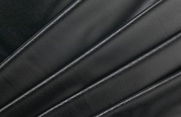 PVC Leather Grain Black