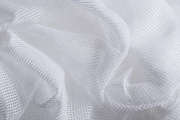 Square Gauze White