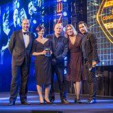 Favourite Set Construction Company sponsored by J&C Joel at the TPi awards 2016
