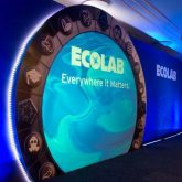 J&C Joel provided Ecolab, with a rear projection screen for presenting company information at a major industry trade show.