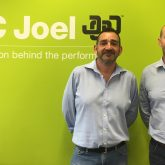 J&C Joel's CEO James Wheelwright (right) with the new Sales Director Stuart Coomber (left).