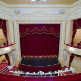 J&C Joel installed a fabulous pair of Front of House Curtains at the Palace Theatre in Redditch.