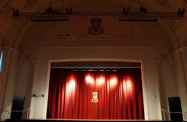 J&C Joel installed a new motorised curtain draw system and updated track fixings on the existing T60 track at Clydebank Town Hall.