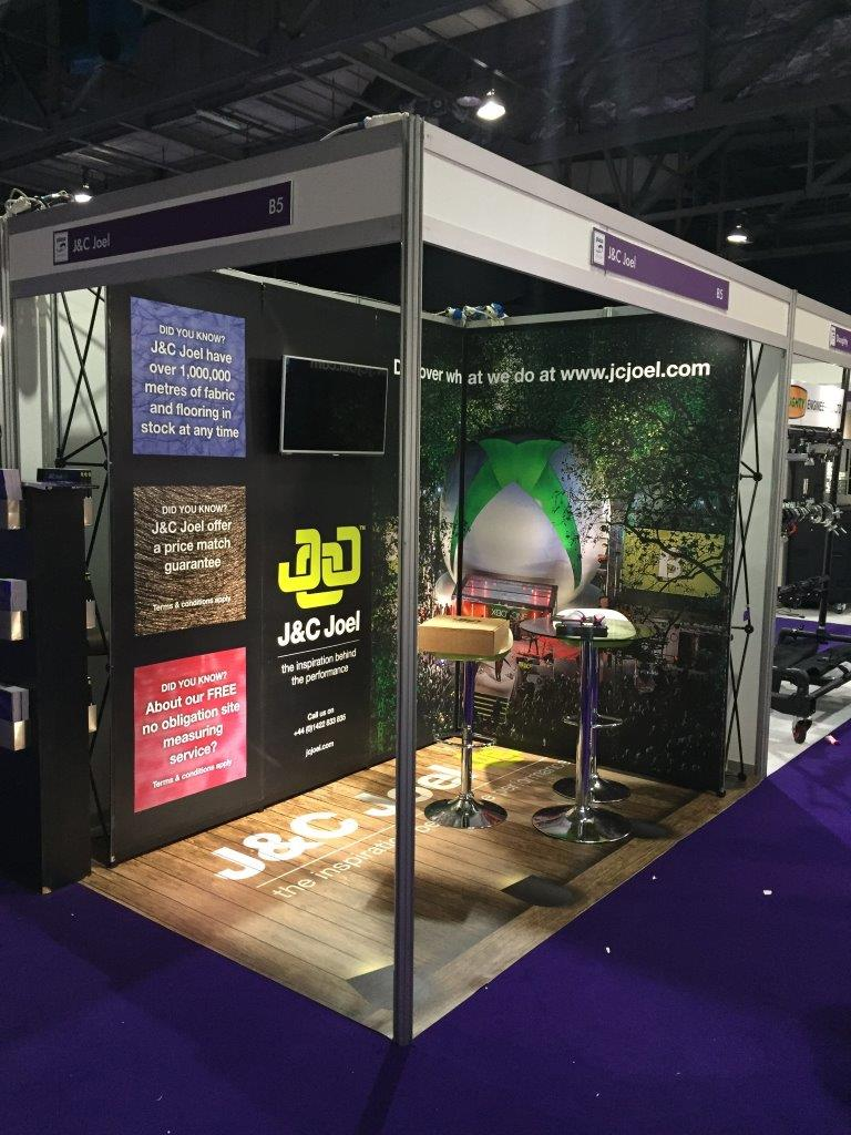 Leading manufacturer of flame retardant fabrics, drapery and stage engineering solutions, J&C Joel, kicked off their 2017 trade show season by exhibiting at PLASA Focus at the SECC in Glasgow.