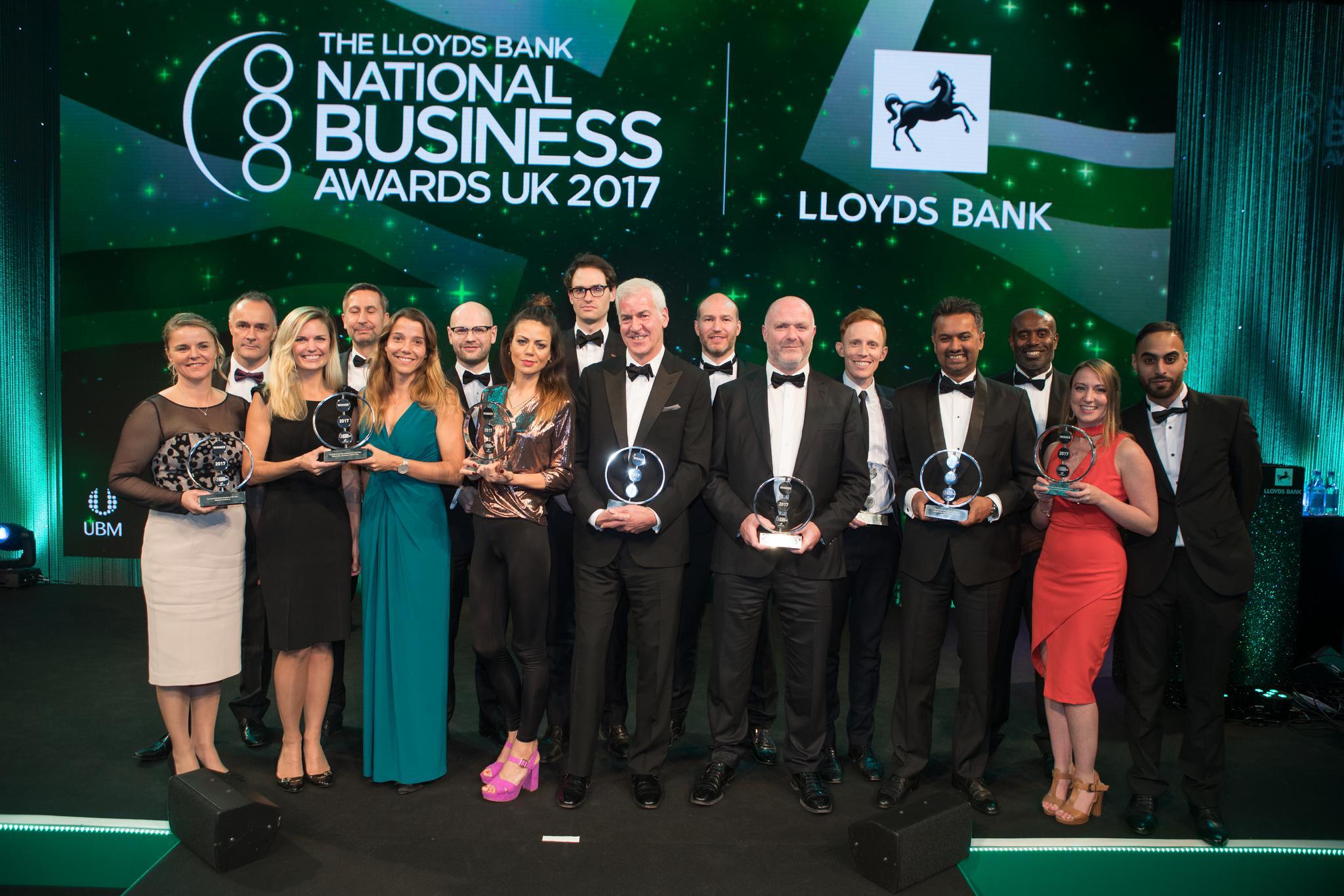 Lloyds National Business Awards winners